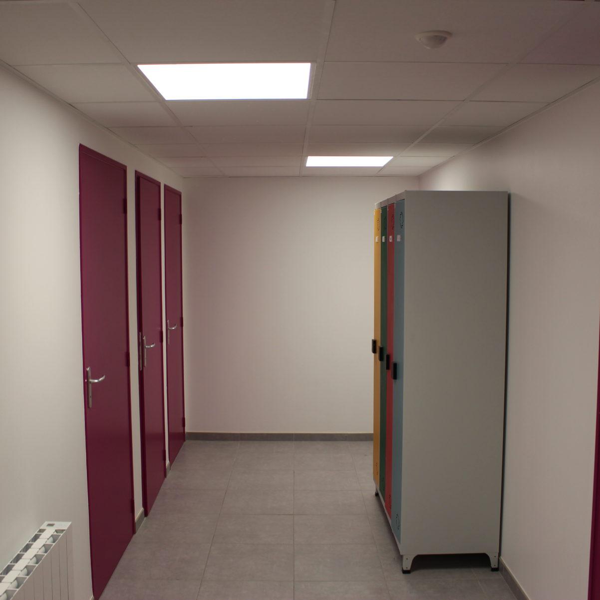 Aménagement tertiaire-Chauvelot Construction